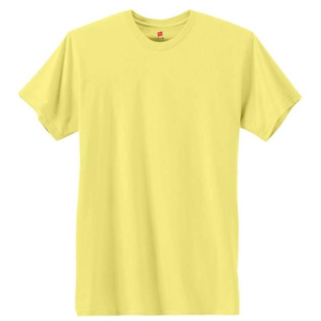 3-Pack: Hanes Men's X-Temp Crew Neck T-Shirt (Yellow)