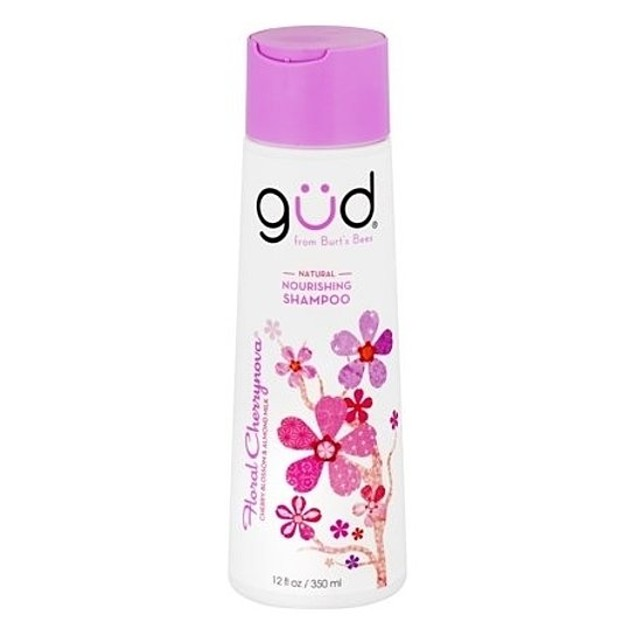 Burt's Bees GUD Shampoo, Floral Cherrynova, 12oz