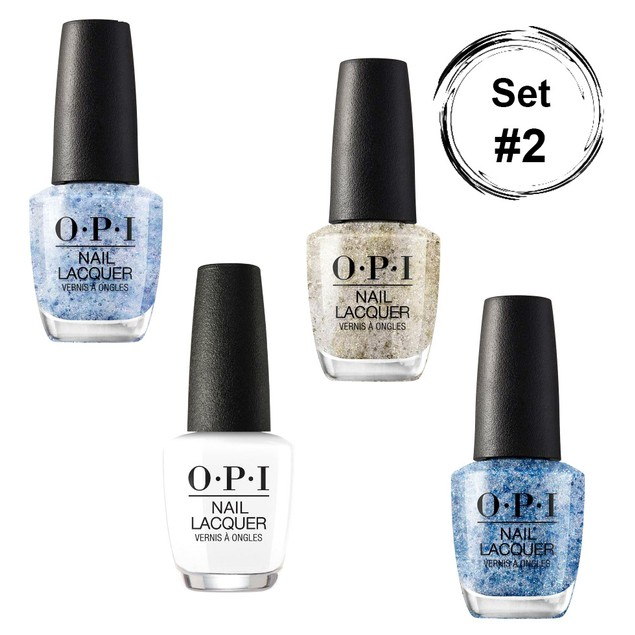 4-Pack OPI Nail Lacquer Metamorphosis Glitter Collection
