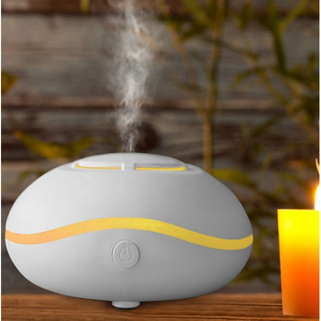Mini Diffuser with 7 LED Lights & 2 Essential Oils