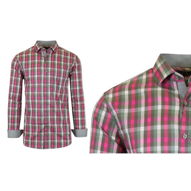 Mens Quick Dry Performance Stretch Dress Shirts