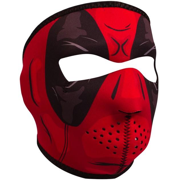 """Comic Inspired """"Red Dawn"""" Neoprene Full Face Mask"""