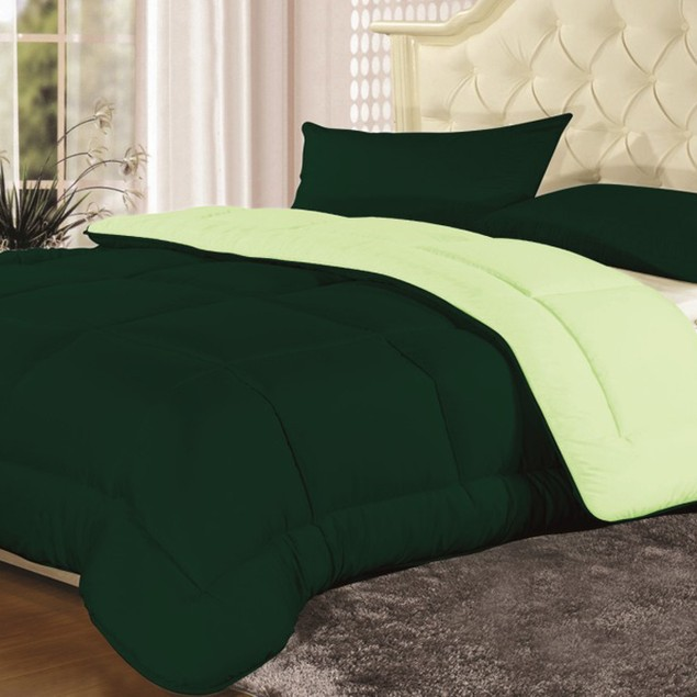 Reversible All Seasons Down-Altrernative Comforter