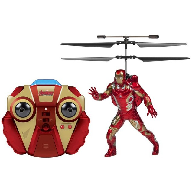 Marvel Comics: Age Of Ultron Iron Man 2CH IR RC Helicopter