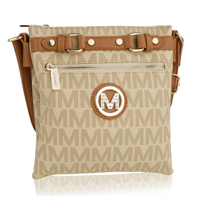 MKF Collection Sophie II Logo Cross body by Mia K