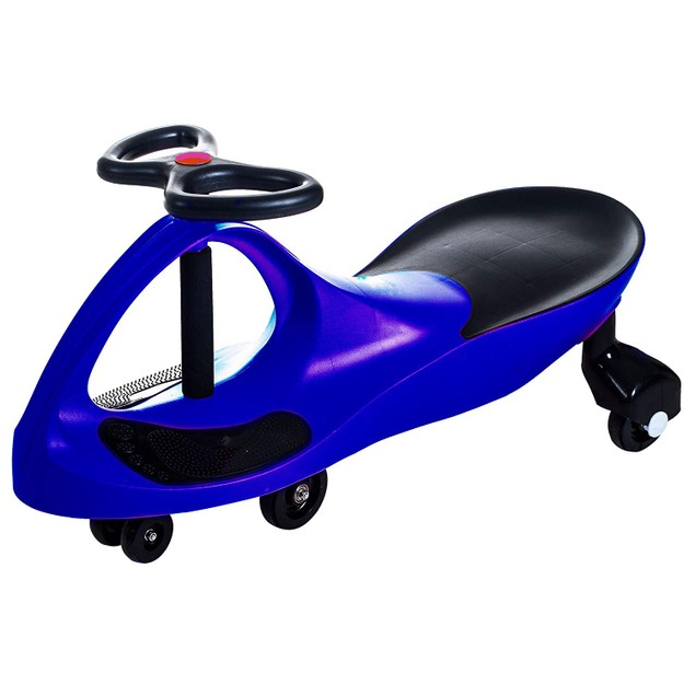 Lil' Rider Wiggle Ride-on Car - Blue