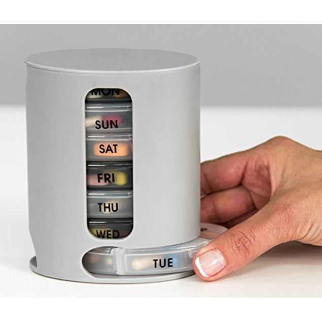 2-Pack As Seen on TV Pill Pro - 7 Day Compact Organizer