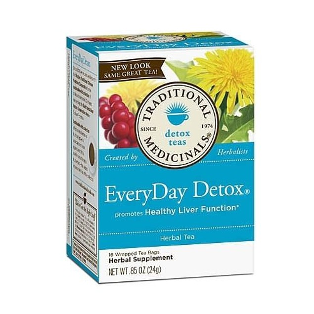 Traditional Medicinals Teas Everyday Detox