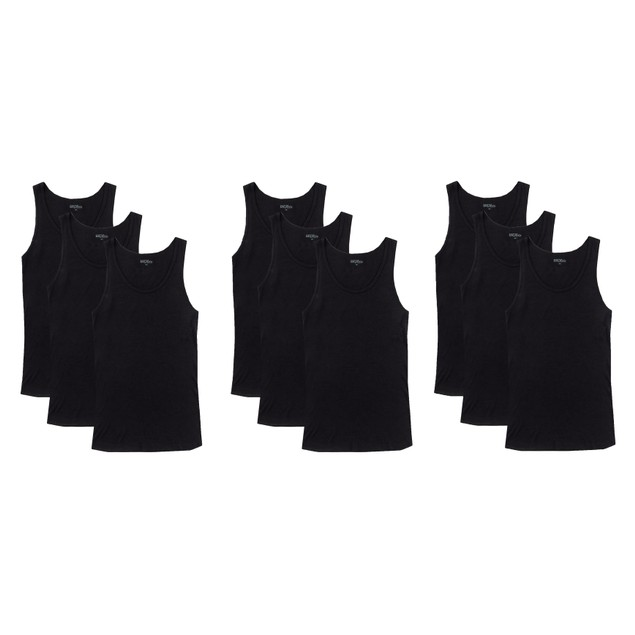 9-Pack Men's Tank Top Undershirts