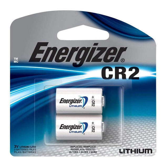 4-Pack Energizer EL1CRBP-2 3-Volt Lithium Photo Battery