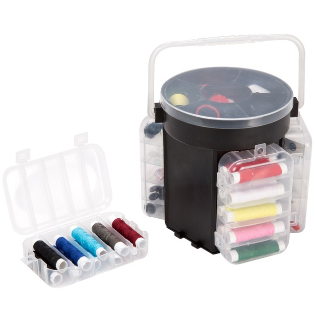 210-Piece Sewing Kit Deluxe Caddy - 2 Colors