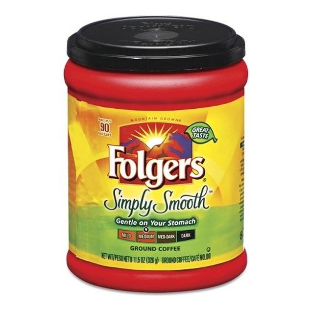 Folgers Simply Smooth Ground Coffee