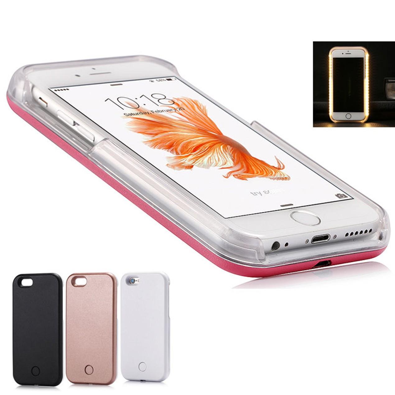 Iphone 6 6s Or Plus Selfie Led Lit Case Tanga