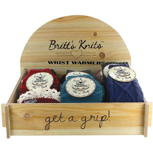 Britt's Knits Wrist Warmers