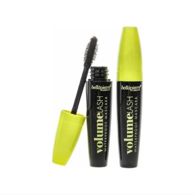 2-Pack BellaPierre Cosmetics Volume Lash Waterproof Mascara, Black