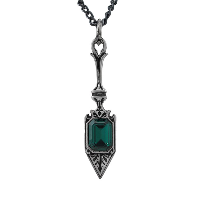 Alchemy Gothic Sucre Vert Absinthe Spoon Pendant Womens Pendant Necklaces