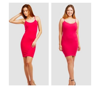 2-Pack: Seamless Camisole Dress (Plus Size Available) Was: $49.99 Now: $13.99.