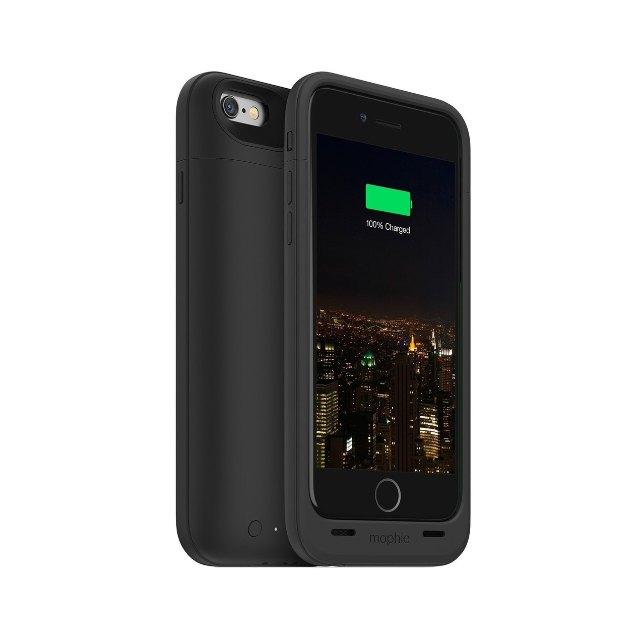 innovative design ff205 1aa09 mophie Space Pack 32 GB Battery Case for iPhone 6/6S (Black) - Tanga