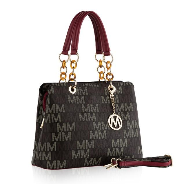 MKF Collection Elisa M Signature Tote/ Shoulder Bag by Mia K.