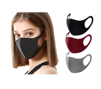 (3 or 5-Pack) Reusable Washable Non-Medical Face Masks Was: $49.99 Now: $13.99.