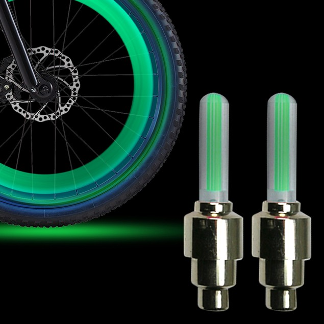 2-Pack LED Bicycle Wheel Lights