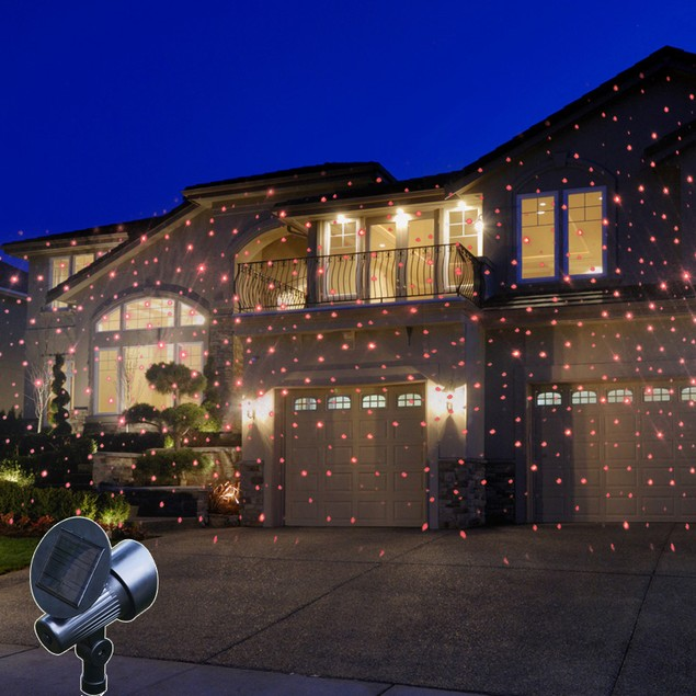Liger State-of-the-Art, Solar-Powered Holiday Laser Lights Projector