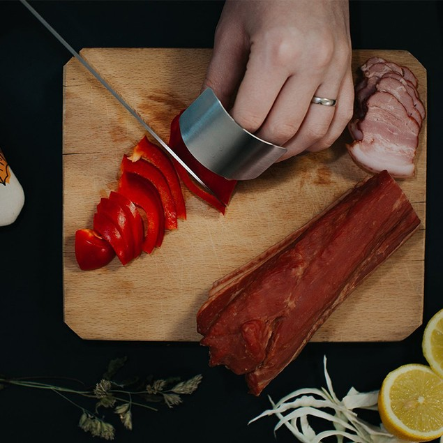 Multipurpose Kitchen Knife Chef Set w/ Fingers Protection