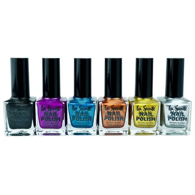 6-Pack La Sante Nail Polish Sets