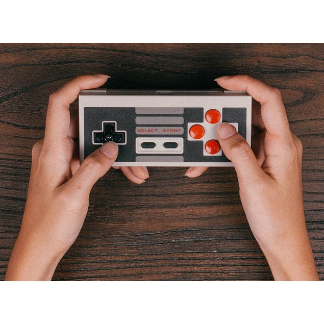 8Bitdo NES30 Classic Edition Controller Set with Wireless Bluetooth Adapter