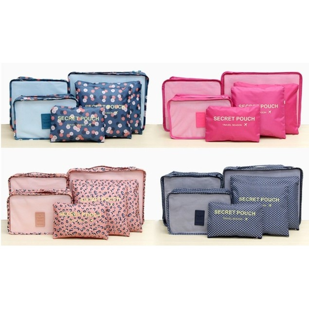 Lightweight Luggage Storage Bag Set- 4 Colors