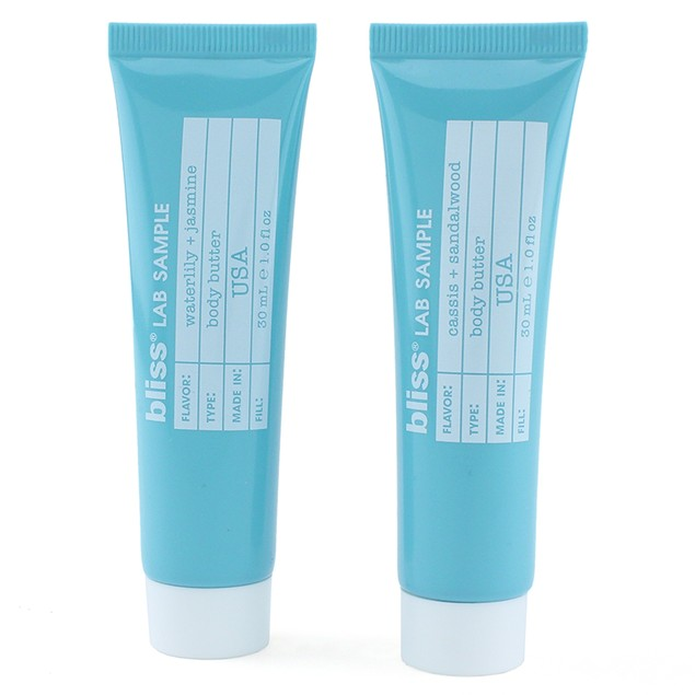 2-Pack Bliss Body Butter Samples (2 Scents, 1oz Each)