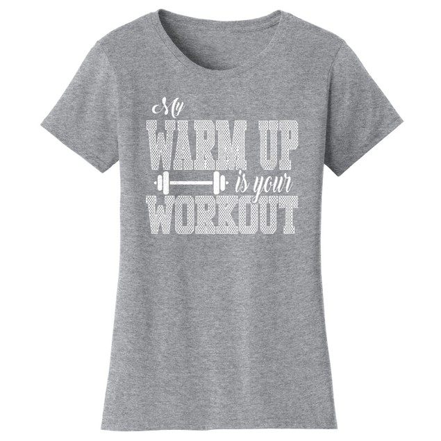 Workout Short Sleeve Crew Neck Graphic Tshirt