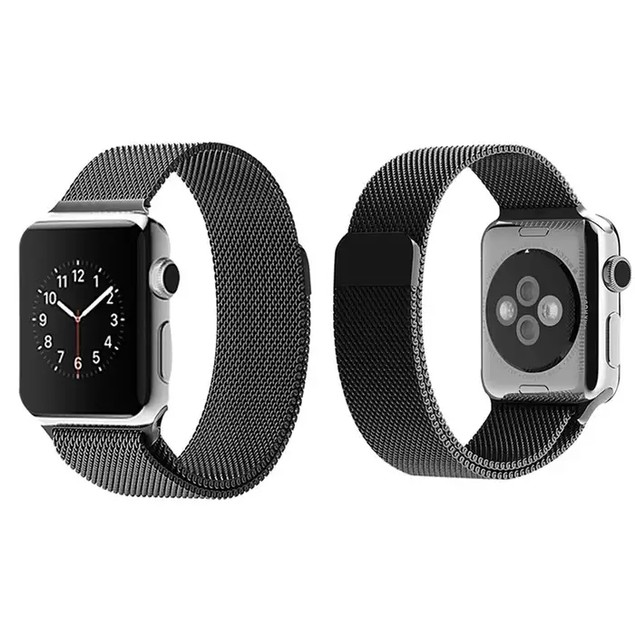 Tribeca Milanese Mesh With Magnet Closure Replacement Band for Apple Watch