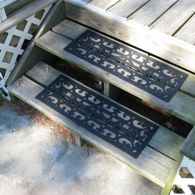 Set of Non-Slip Stair Tread Mats by Pure Garden