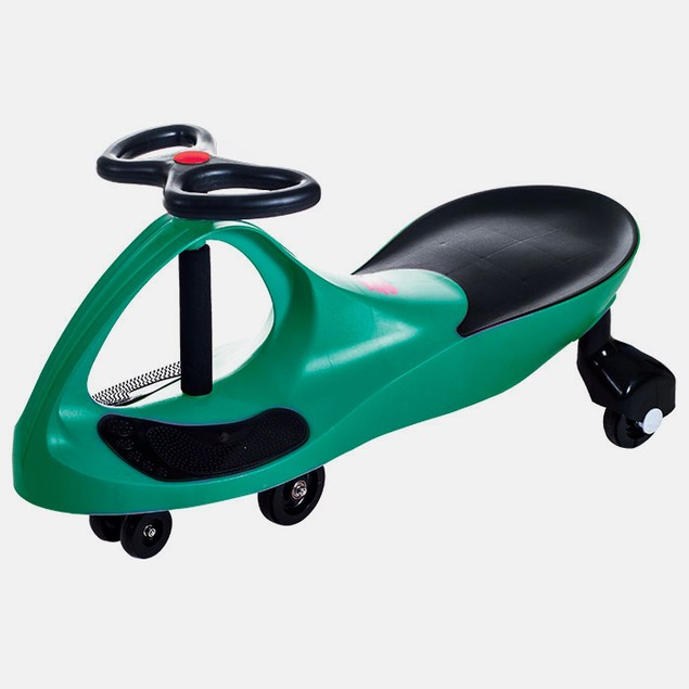Lil' Rider Wiggle Ride On Car - Green