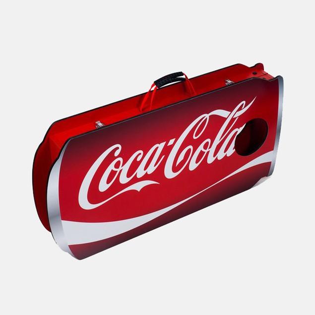 Coca-Cola Can Cornhole Bean Bag Toss Game