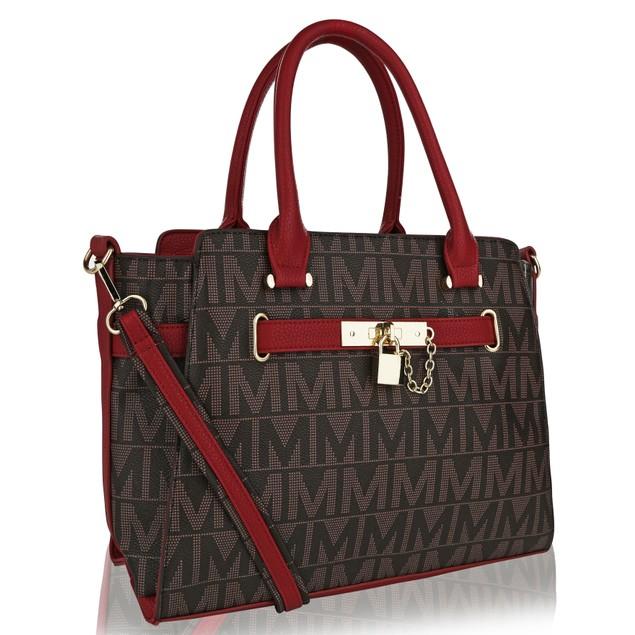 MKF Collection Estelle M Signature Tote Bag by Mia K. Farrow