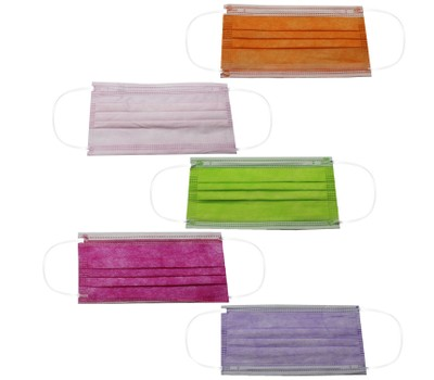 Non-Medical Disposable 3-Ply Color Face Masks (Multi-Colors Available) Was: $49.99 Now: $19.99.