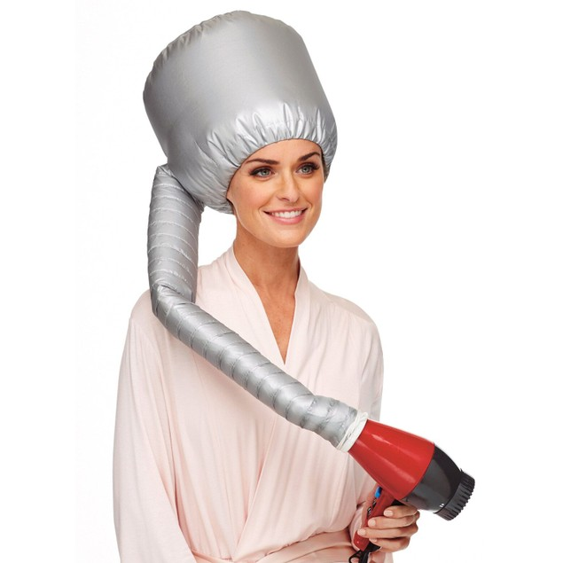 Hands-Free Hair-Drying Bonnet