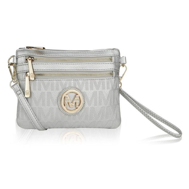 MKF Collection Roonie Milan M Signature Crossbody Wristlet by Mia K.