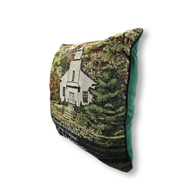 Hazels Church Woven Tapestry Decorative Throw Throw Pillows