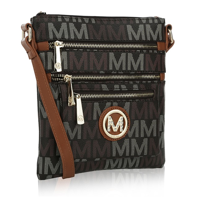 MKF Collection Beatrice M Signature Cross-body by Mia K