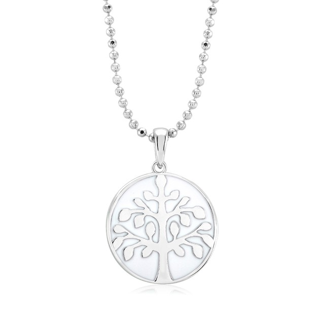 Tree of Life Drop Necklace