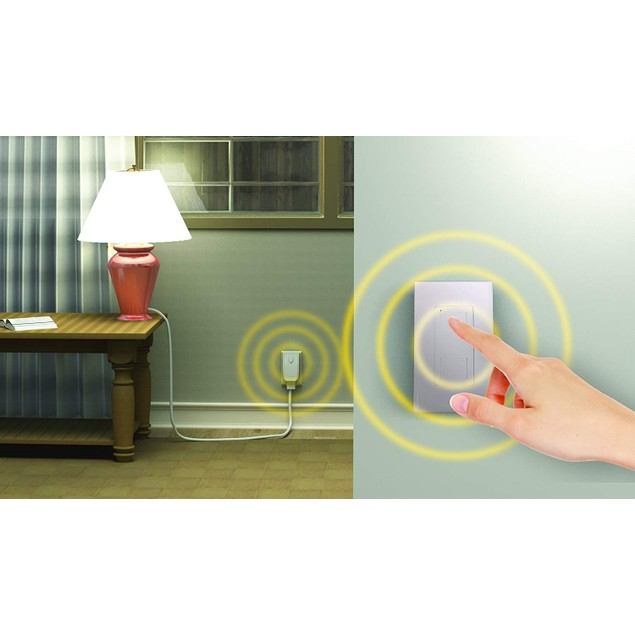 Stanley Light Switch Remote  w/Wall Mountable Transmitter
