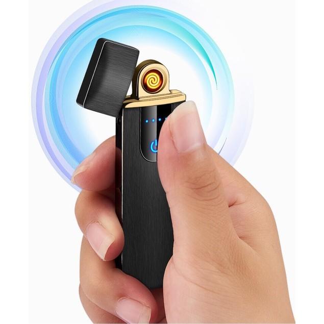 Slim Windproof Rechargeable Lighter