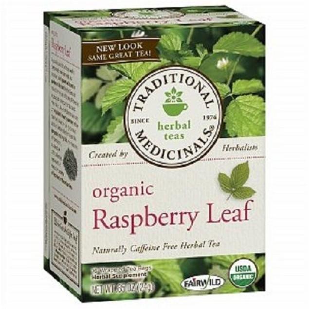 Traditional Medicinals Teas Organic Raspberry Leaf