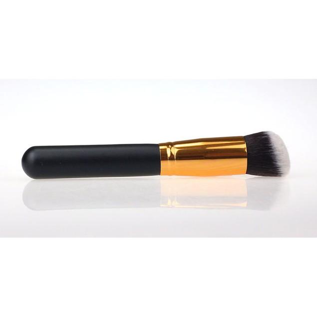 10-Piece Cosmetic Makeup Brushes Foundation Powder Eyeshadow
