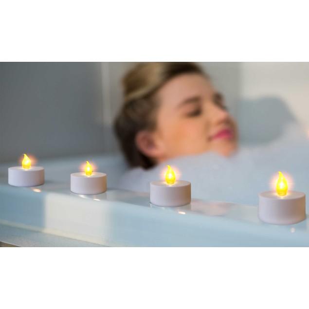 12-Pack Tealight Flameless Candles
