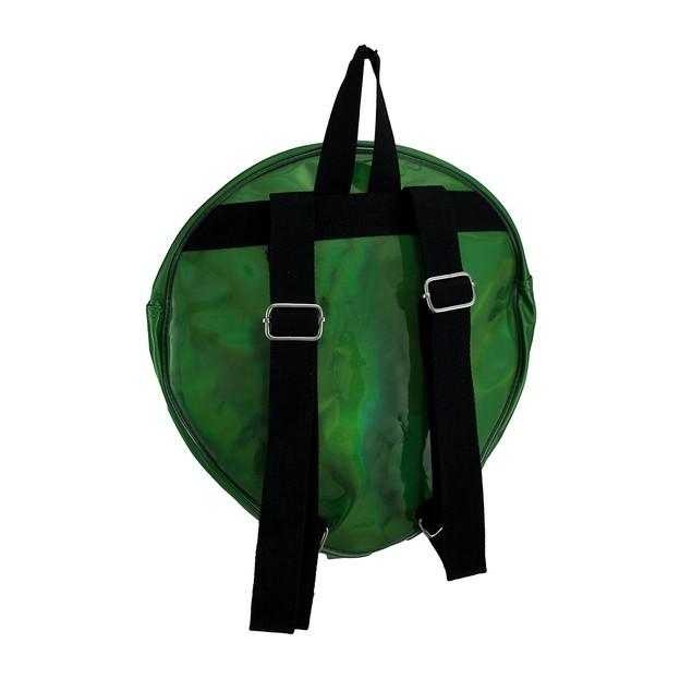 Sleepyville Critters Glossy Green Alien Head Basic Multipurpose Backpacks