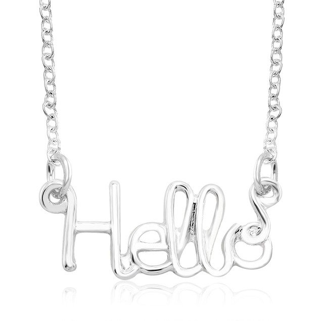 Inspirational Word Necklaces
